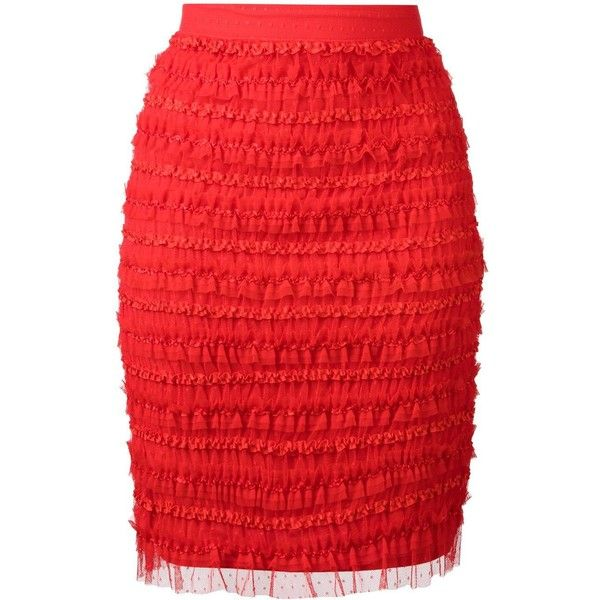 Best 25  Red pencil skirts ideas only on Pinterest | Red pencil ...