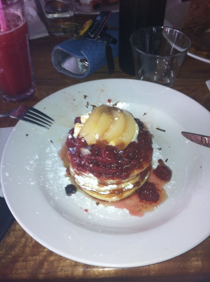Naughty but Nice Pancakes @ The Naked Fig, Swanbourne