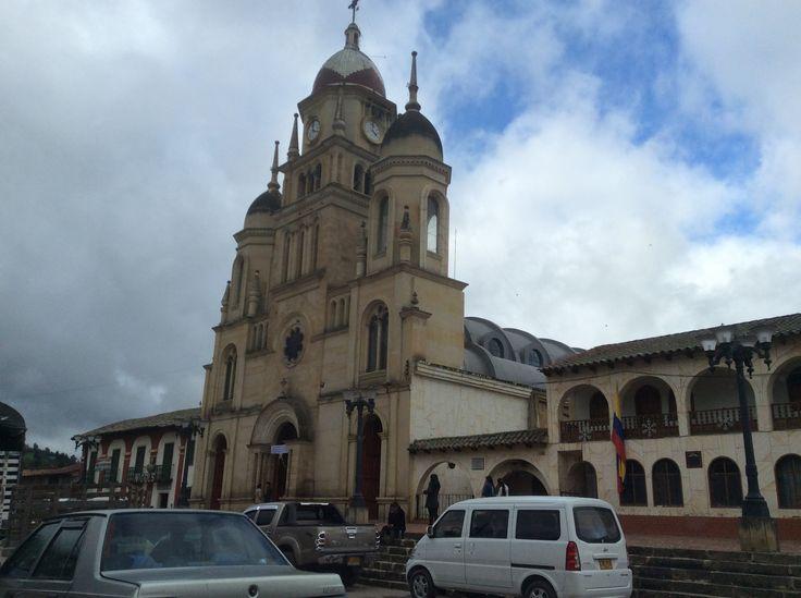 Iglesia de Ventaquemada Boyaca