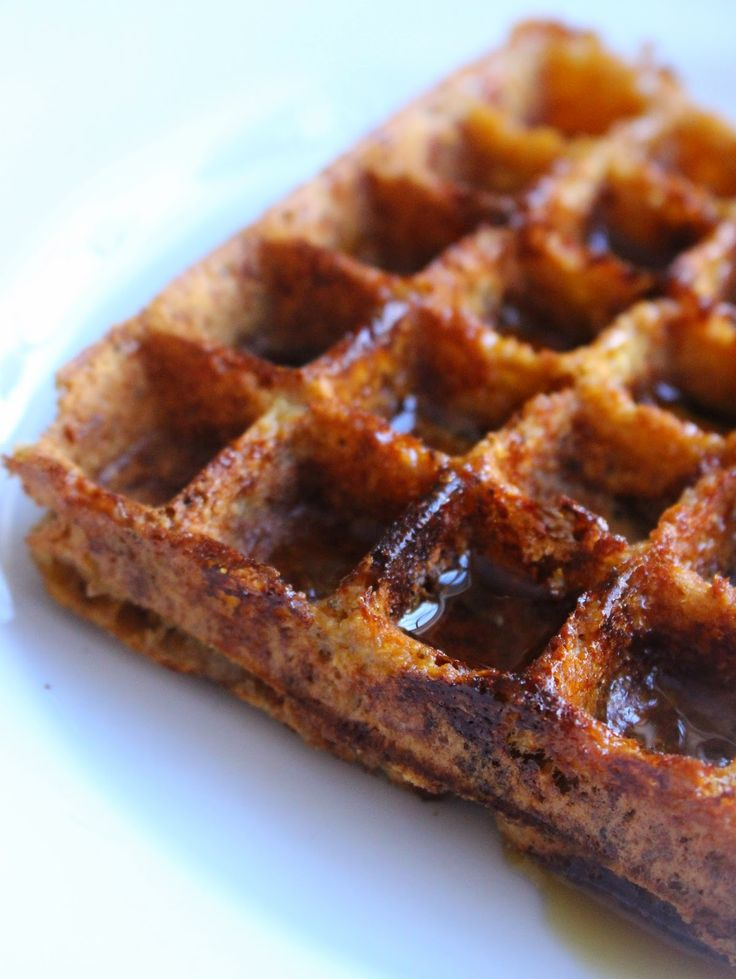 Beyond the Bite: Paleo Apple Cinnamon Plantain Waffles (AIP Friendly)