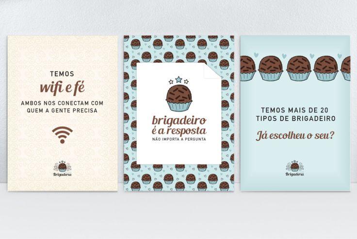 Bistrô Brigaderia | Carinhas - Design & Ilustração