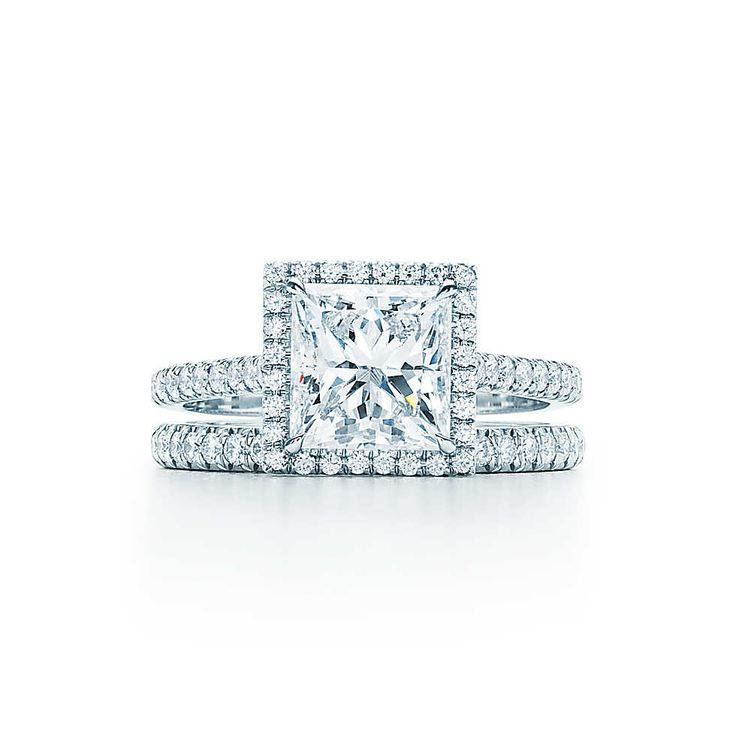Tiffany Soleste®, taille princesse Bagues de Fiançailles | Tiffany & Co.
