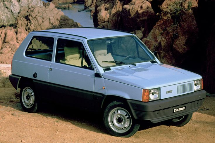 yep Fiat Panda 1.1 in the 80's, full body double bed seats great for camping