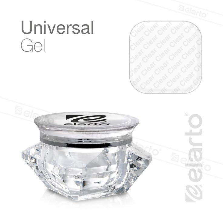 Żel UV/LED bezbarwny średniogęsty Universal Gel 30g #elarto #universal #gel