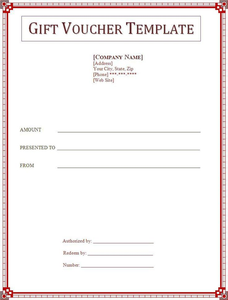25 best ideas about Gift Certificate Template Word – Gift Voucher Template Word Free Download