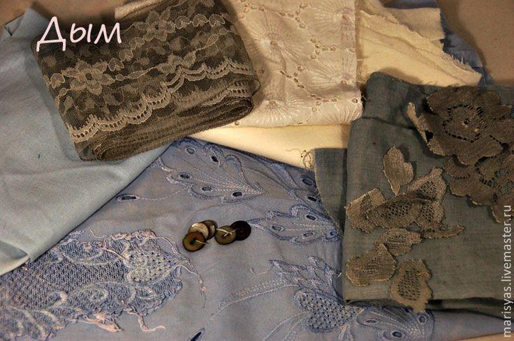Купить Наборы винтажных тканей. - винтажные ткани, винтаж, винтажная ткань, винтажные пуговицы