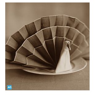 1000 images about como doblar servilletas on pinterest - Origami con servilletas ...