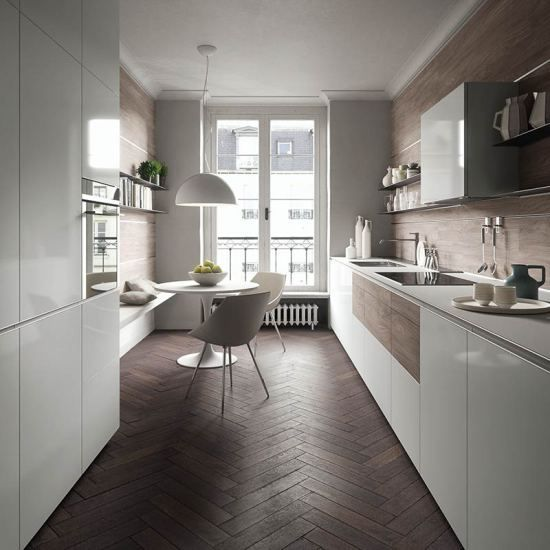 Forma Mentis is a new modular kitchen system by Valcucine