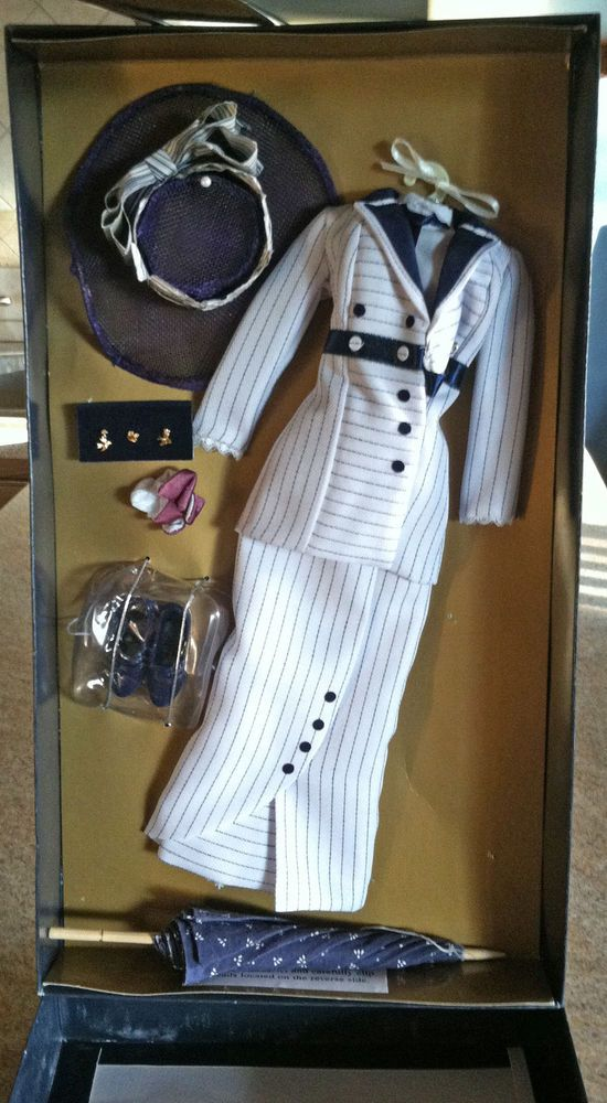 Franklin Mint Rose Titanic Boarding Ensemble Outfit Suit & Asccessories New #franklinmint