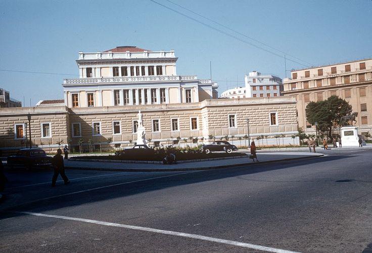 Billy Files: Έγχρωμες φωτογραφίες της Αθήνας του '50