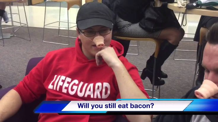 Bacon Causes Cancer - WATCH VIDEO HERE -> http://bestcancer.solutions/bacon-causes-cancer-2    *** bacon causes cancer ***   Student made video interviewing local students at Clackamas Community College on the latest news Video credits to the YouTube channel owner