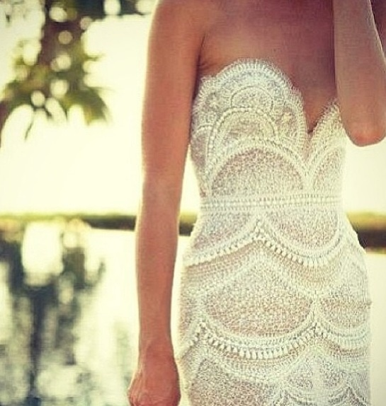 I have an obsession with lace...
