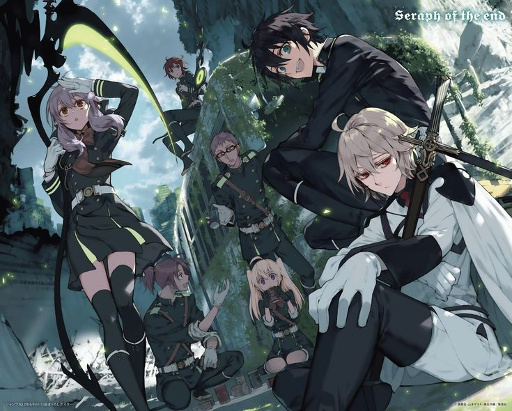 Read Owari no Seraph manga Chapter 45 online. One day, a mysterious virus appeared on Earth which killed every infected human over the age of 13. ...