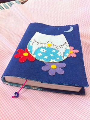 S.Barrelin Artes: Capa para Livros em Feltro