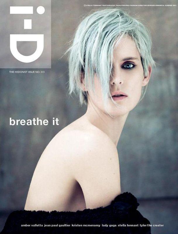 Stella Tennant for i-D Magazine