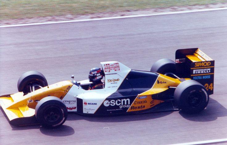 Pablo Barilla, Minardi M190