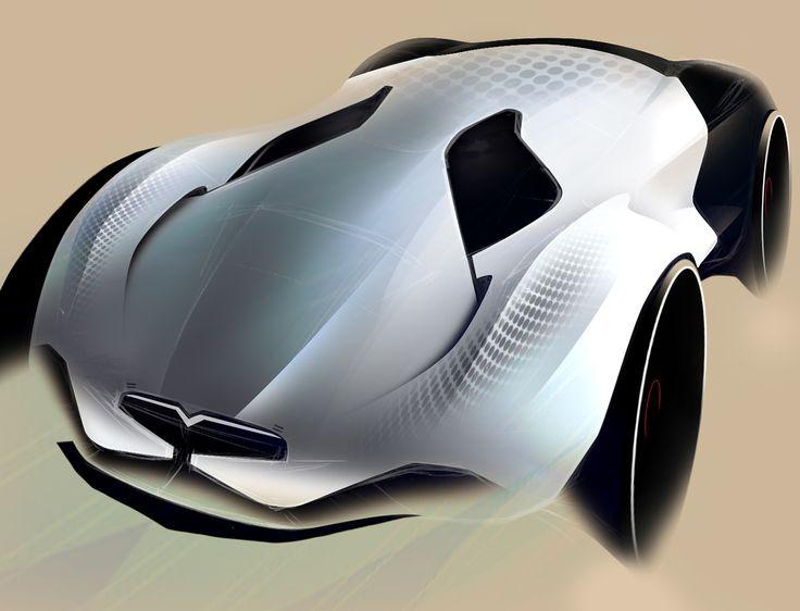 automotive sketchbook_I on Behance