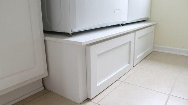 washing machine pedestal with drawers - Google Search