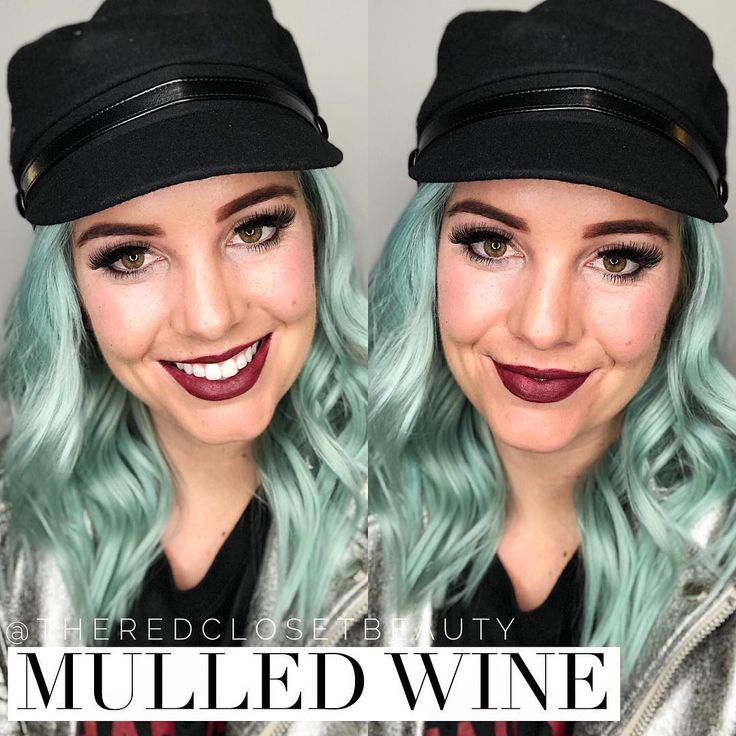 Mulled Wine LipSense!! Such a gorgeous, dark berry lipstick! Doesn't smear, smudge, or kiss off, and lasts for up to 18 hours!!