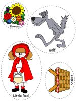 little red ridinghood feltboard images