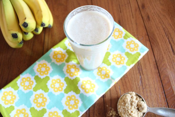 Bananas Foster Smoothie - The Messy Baker Blog