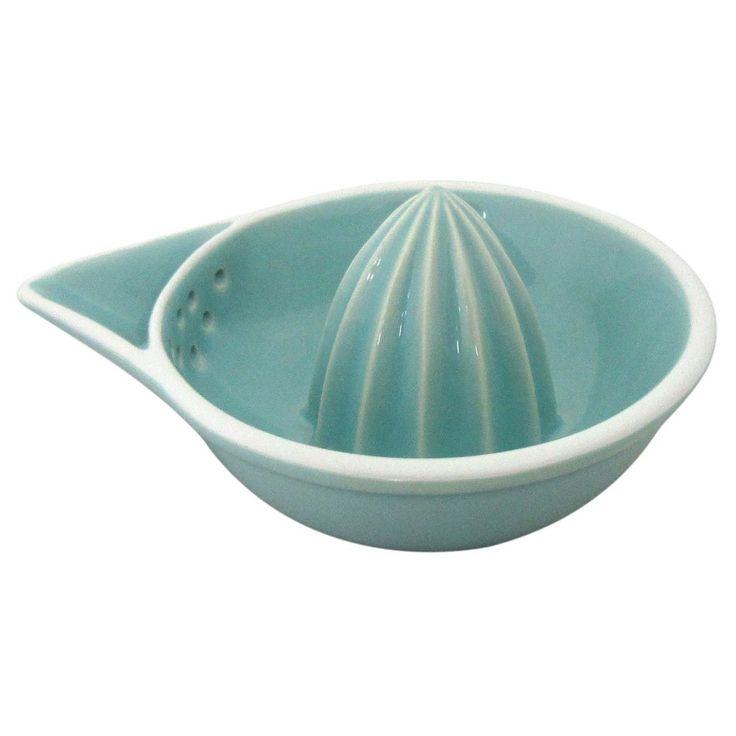 Ceramic Hand Juicer Caribbean Aqua - Threshold, Green