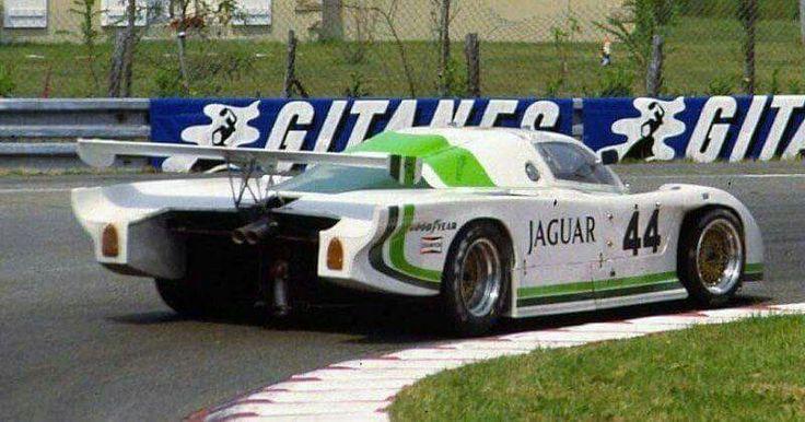 Jaguar XJR IMSA GTP   Vintage race car, Race engines ...
