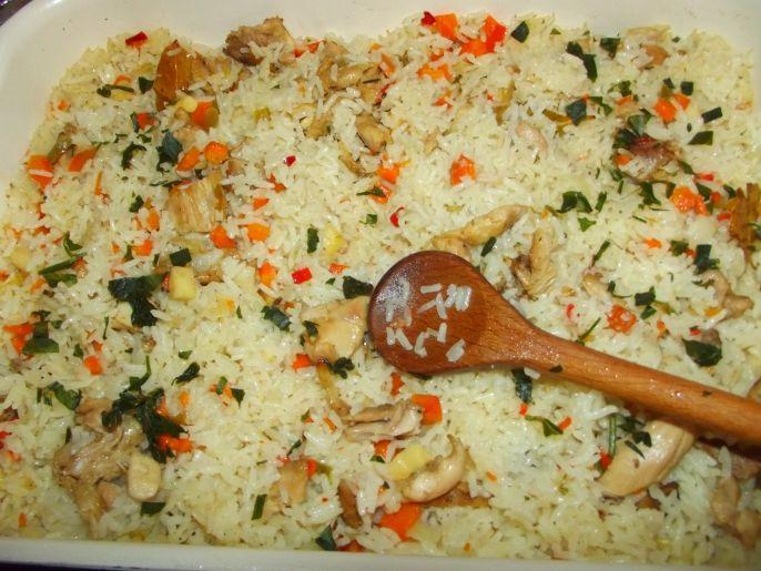 Zöldséges húsos rizs a sütőből – mennyei ízvilág