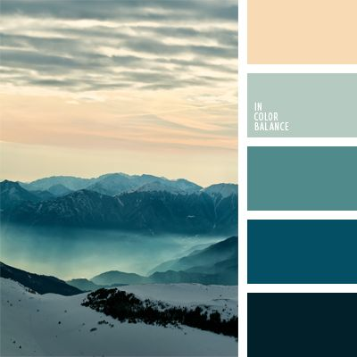 azul grisáceo, celeste, color aguamarina, color montaña, colores de la salida del sol, de zanahoria, elección del color, esmeralda, gris, matices de color esmeralda, verde azulado oscuro, zanahoria claro.