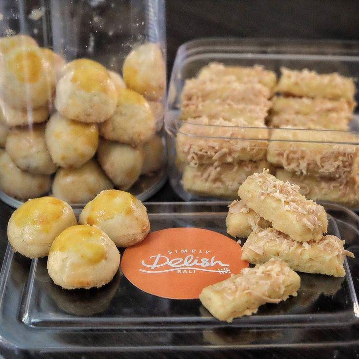 #Bali pas liat kue buatan @SimplyDelishBali langsung tergoda untuk pesen dan setelah dicobain ini adalah Nanas Tart & Kaastengels yang ada di Bali yang paling cocok di lidah kami