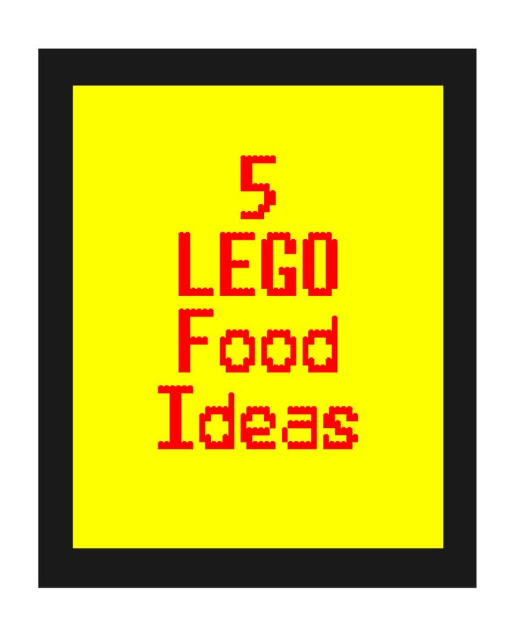 5 of my Favorite LEGO Party Food Ideas & The Lego Movie Review #TheLEGOMovie - Giggles, Gobbles and Gulps