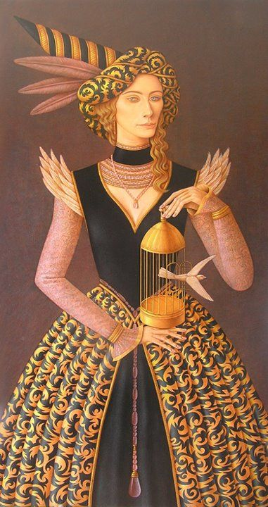 Hernán Valdovinos 1948   Magical Realism painter