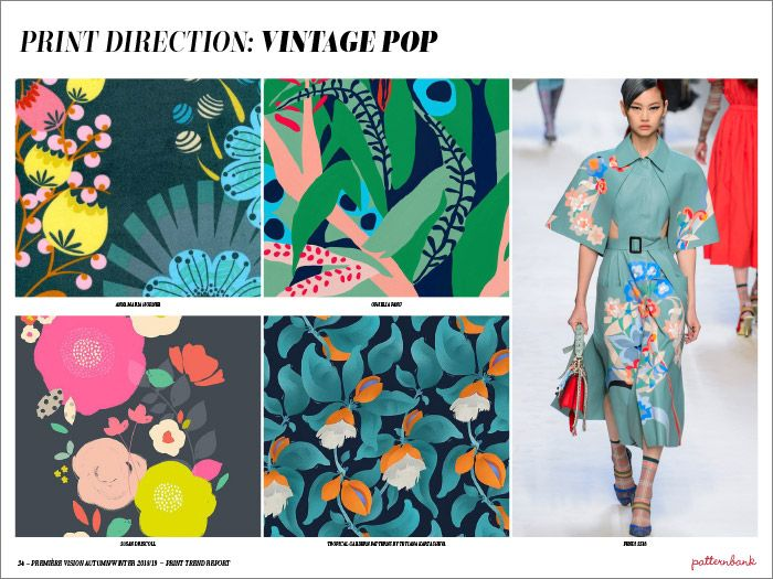 Première Vision Autumn/Winter 2018/19 Print & Pattern Trend Report
