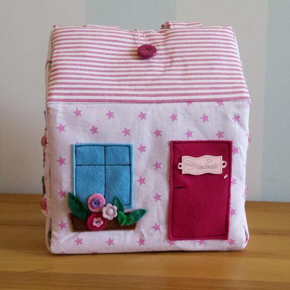 Travel dollhouse Dollhouse Fabric dollhouse Custom made #dollhouse #dollhousebag #fabricdollhouse