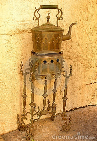 antique tea maker from Morocco