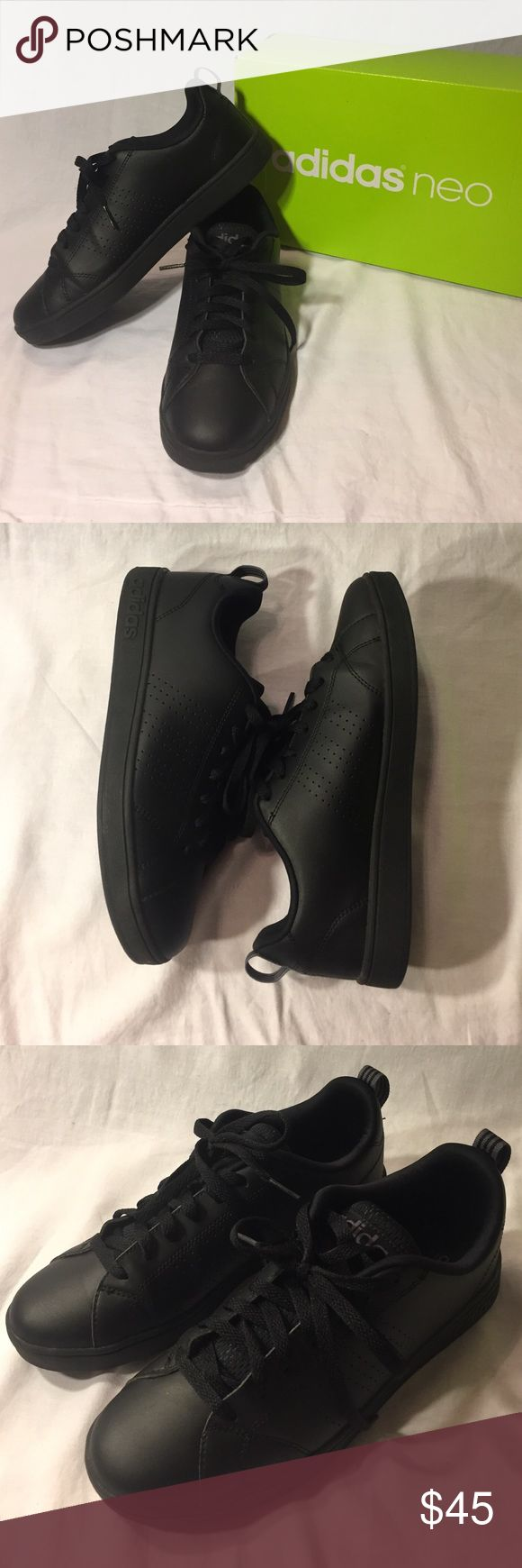 Adidas Neo Advantage Clean VS Semi-Worn // Size 7 in Men's // Synthetic Leather Upper // Textile Lining // Comfortable Adidas Shoes Sneakers
