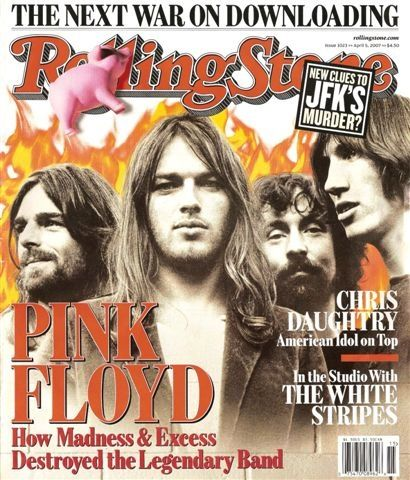 Pink Floyd- One of the best bands revolutionizing the rock music scenes in the late 80's. Interesting fact- Pink Floyd got their name from two bands from those times-- PINK Anderson and FLOYD Council..