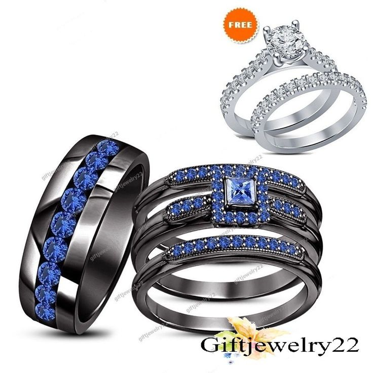 529 best Trio Ring Set images on Pinterest Weddings Wedding