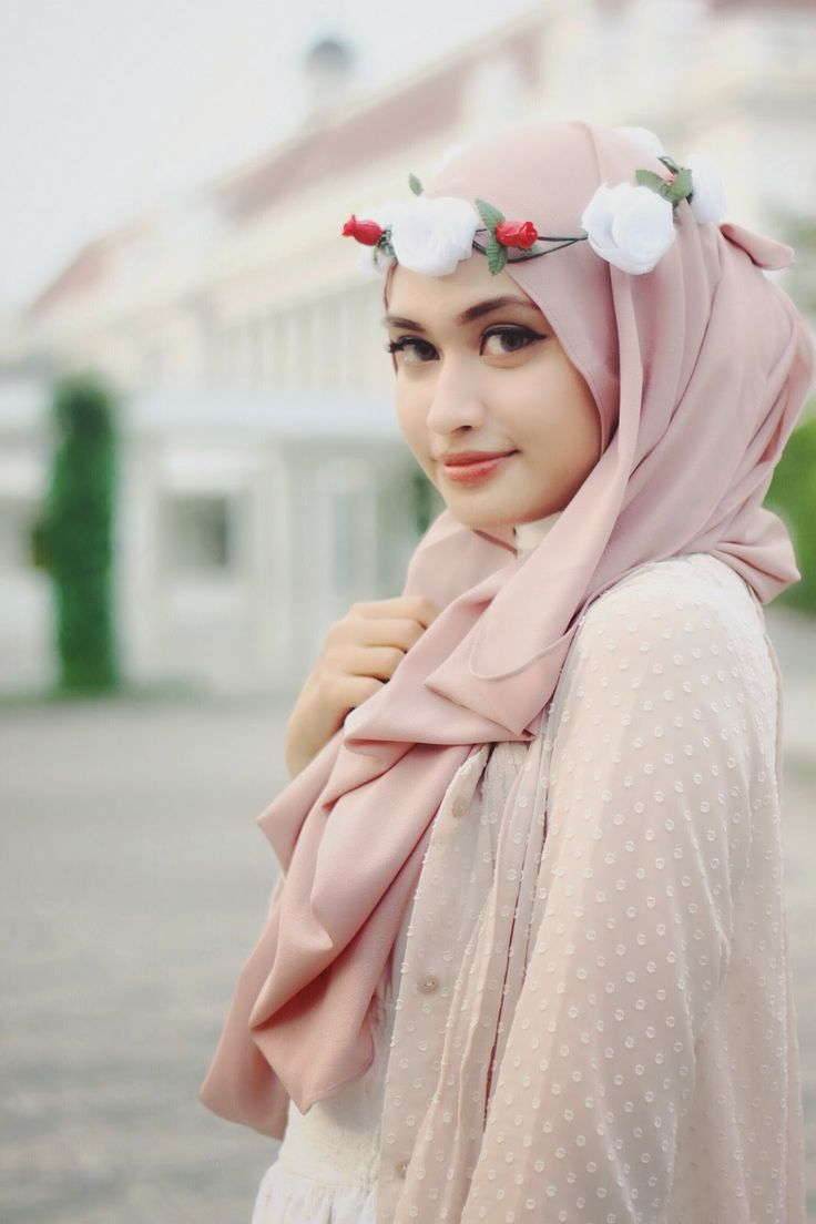 flower crown hijab - Google Search