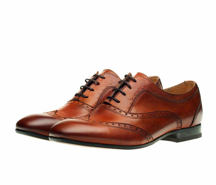 Мужские туфли-броги Н by Hudson Francis из высококачественной кожи! 1 870 грн
