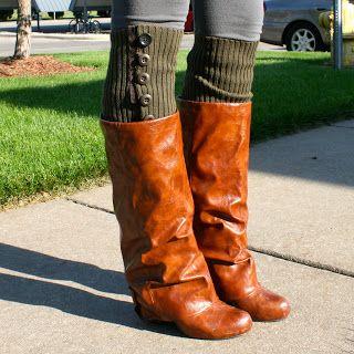 la vie DIY: NO SEW Leg warmers (round two!)