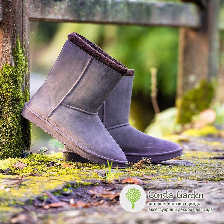 Сапоги-угги резиновые Сheyenne Blackfox.Теперь Вы можете с удовольствием гулять по лужам и снегу в городе и на природе, активно отдыхать, а также работать в саду в любую погоду - Ваши ноги будут надежно защищены от мороза, воды и грязи.