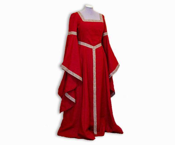medieval dress fantasy gown medieval renaissance dress etsy