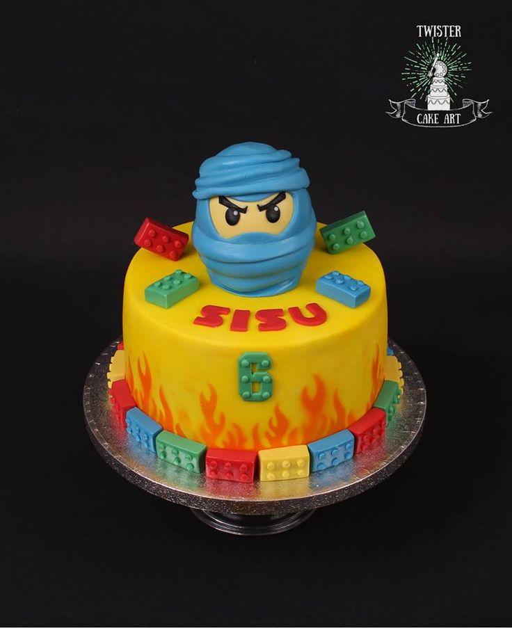 Ninjago kakku, lego cake