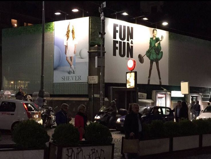 Fun&Fun illumina Napoli con la nuova campagna fall/winter 2015... http://www.fun-fun.it/S13/