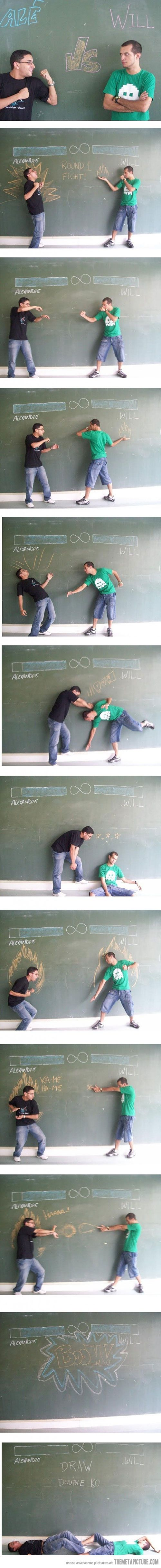 Classroom fight