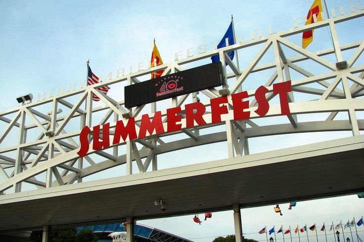 Summerfest is the largest music festival IN THE WORLD!