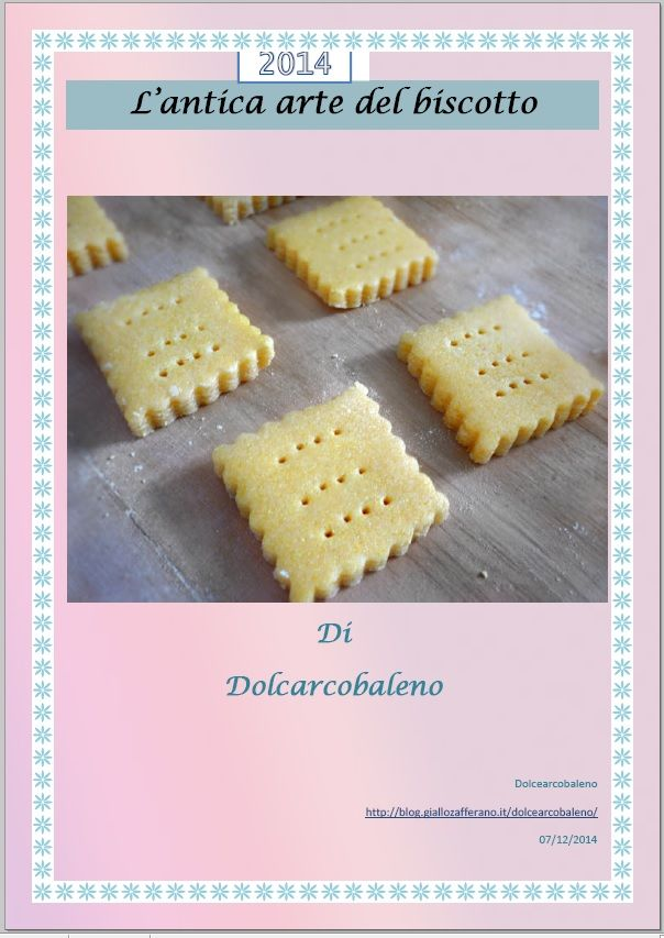 L'antica arte del biscotto è un PDF gratuito , che contiene 20 ricette dei biscotti che amo di più, The ancient art of biscuit is a free PDF, which contains 20 recipes of cookies that I love most,