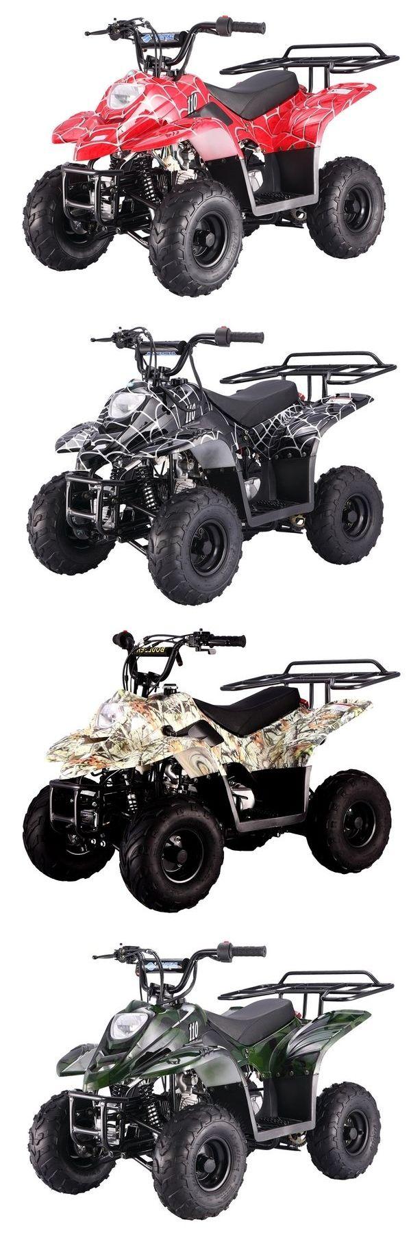 atvs utvs snowmobiles: 110Cc Atv 4 Wheeler For Sale Kids Taotao 110 Cc Atv W Safety Features Free Ship -> BUY IT NOW ONLY: $639 on eBay!