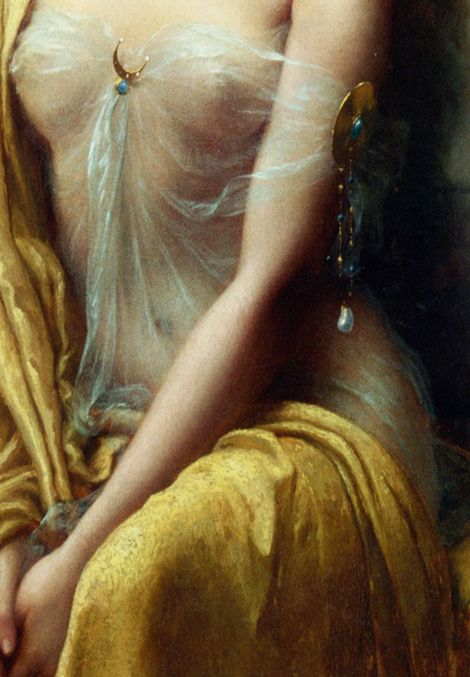 Starlight (detail) by Emile Vernon (1872-1919).